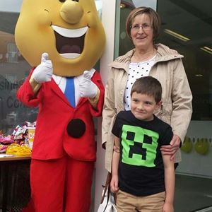 Enjoying a great day and meeting Mr Tayto at the Robinson & Company office.jpg
