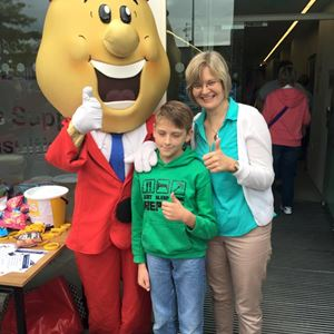 Robinson & Company's Diane McClelland and family meeting Mr Tayto and enjoying a great day at Country Comes to Town.jpg