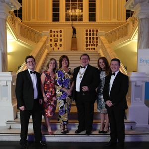 CAI President Tony Nicholl and family at CAI Annual Dinner.jpg