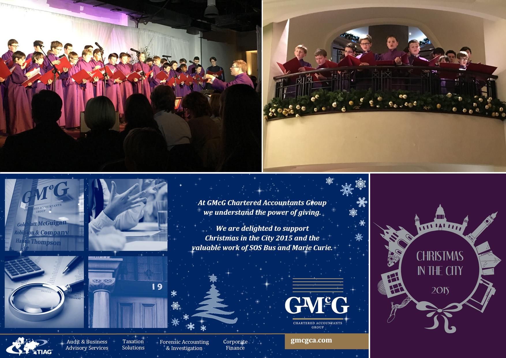 GMcG sponsors Christmas In City 2015