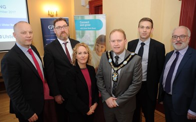 Portadown Budget event_Lord Mayor and presenters.jpg